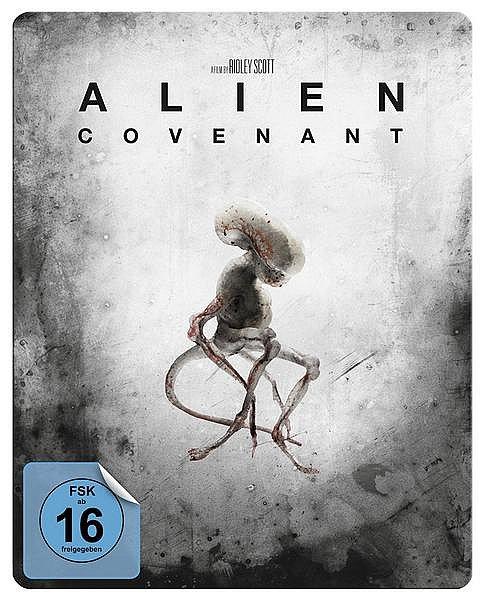 Alien: Covenant limited Steelbook [Blu-Ray]
