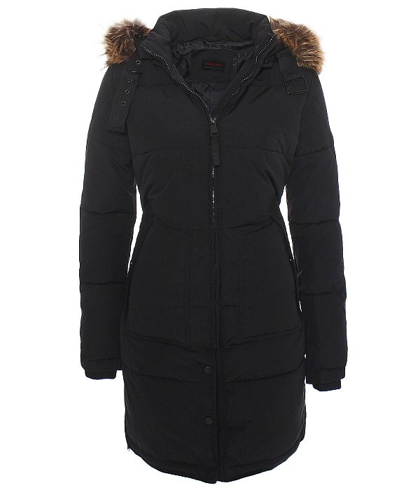 dv 065 damen warmer wintermantel winter stepp mantel jacke lang parka. Black Bedroom Furniture Sets. Home Design Ideas