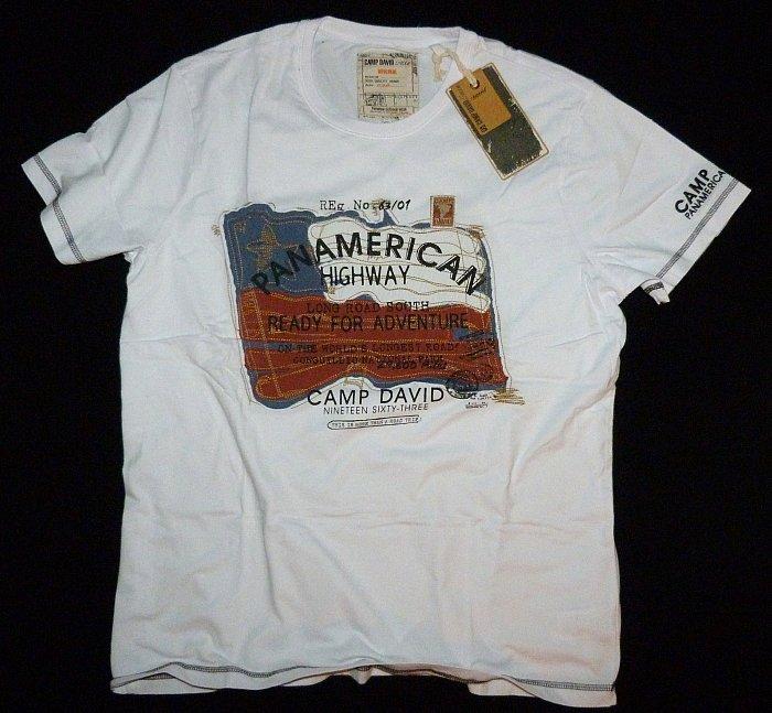 camp david t shirt kollektion panamerican highway ii cd gr xl xxl xxxl neu ebay. Black Bedroom Furniture Sets. Home Design Ideas