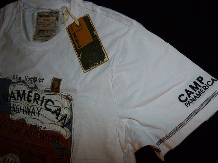 camp david t shirt kollektion panamerican highway ii cd. Black Bedroom Furniture Sets. Home Design Ideas