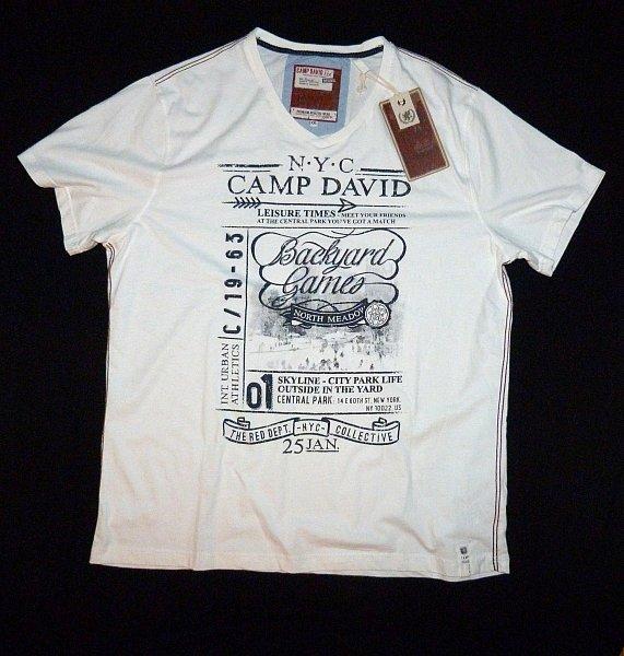 camp david t shirt kollektion central park activities i cd gr m l xxl neu ebay. Black Bedroom Furniture Sets. Home Design Ideas