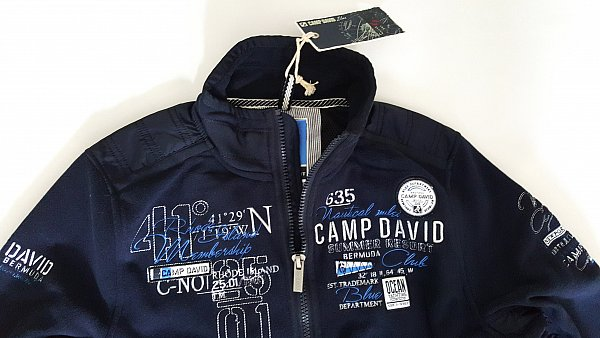camp david fleecejacke kollektion newport iii cd gr m l neu. Black Bedroom Furniture Sets. Home Design Ideas