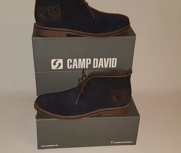camp david schuhe boots kollektion lace up boot gr 43 44 45 46 47 neu ebay. Black Bedroom Furniture Sets. Home Design Ideas