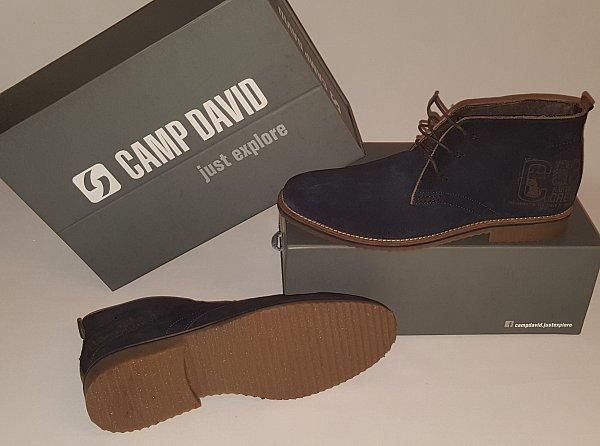 camp david schuhe boots kollektion lace up boot gr 43. Black Bedroom Furniture Sets. Home Design Ideas