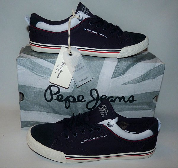 pepe jeans schuhe herren sneaker gr 41 neu. Black Bedroom Furniture Sets. Home Design Ideas