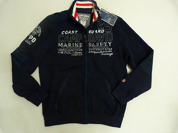 camp david sweatshirt kollektion coast guard gr l xl xxl xxxl neu ebay. Black Bedroom Furniture Sets. Home Design Ideas