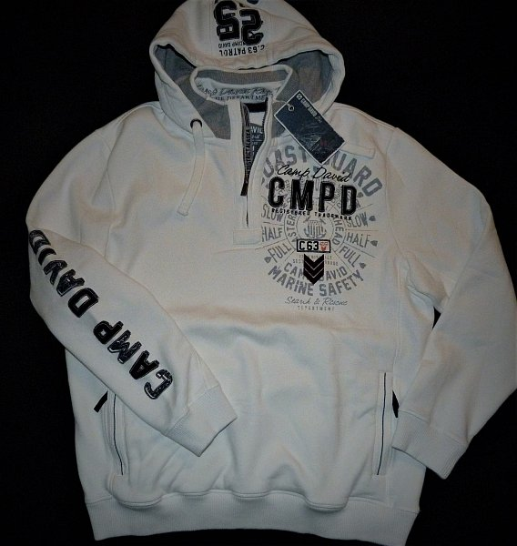 camp david sweatshirt kollektion coast guard gr xxxl neu ebay. Black Bedroom Furniture Sets. Home Design Ideas