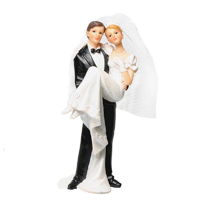 Dekofigur hochzeit ca 13cm cake topper torte for Hochzeit geldgeschenk hohe