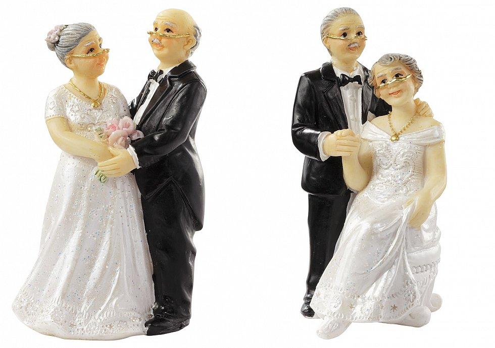 Hochzeit figur lteres brautpaar hochzeitspaar for Hochzeit geldgeschenk hohe
