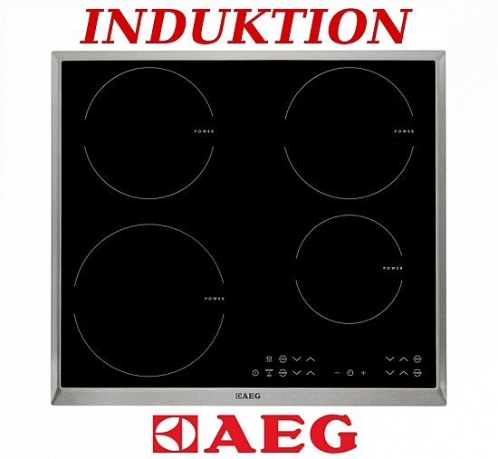 Herd Set Induktion AEG Autark Backofen Induktionskochfeld  ~ Backofen Set