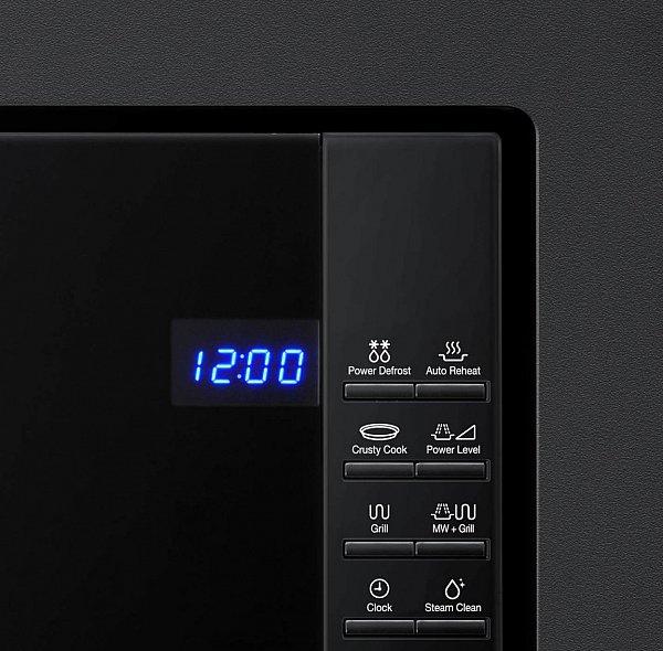 einbaumikrowelle samsung fg87sub einbau mikrowelle mikrowellenherd led schwarz ebay. Black Bedroom Furniture Sets. Home Design Ideas