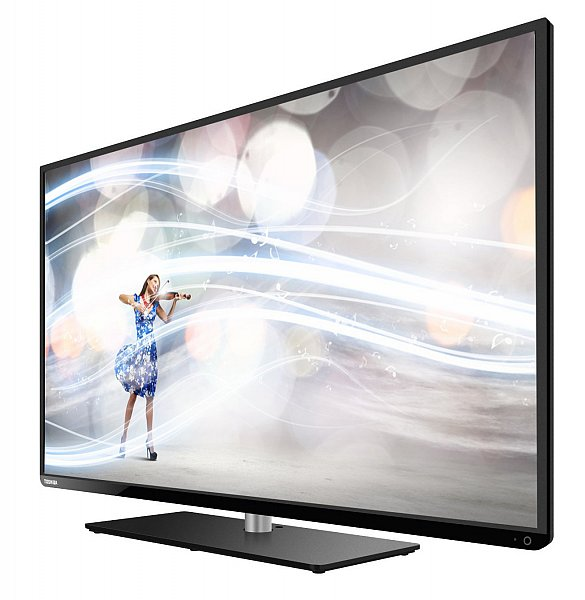 toshiba 40l3444dg led fernseher 40 102cm hdtv tuner dvb t c s led tv 200hz ebay. Black Bedroom Furniture Sets. Home Design Ideas