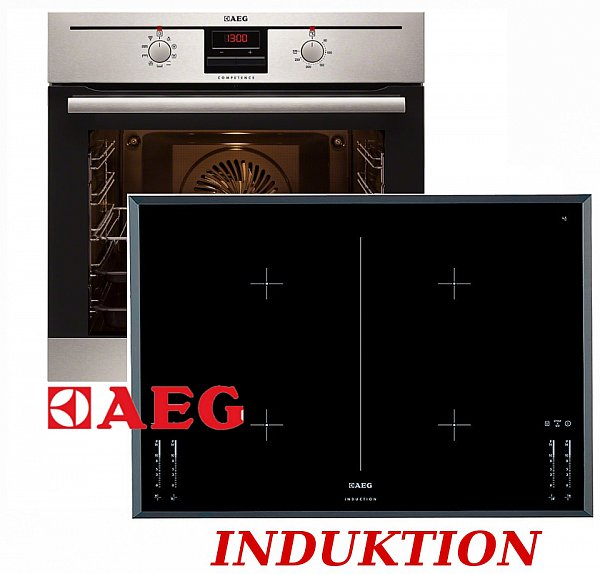 Aeg herdset induktion autark backofen induktion for Herdset induktion