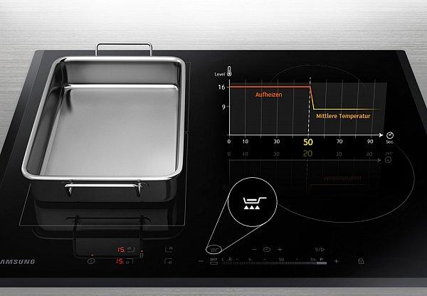 induktionskochfeld samsung autark 60cm kochfeld induktion touch flex zone. Black Bedroom Furniture Sets. Home Design Ideas