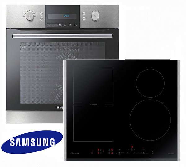 Herdset induktion samsung autark backofen induktion for Backofen mit induktion