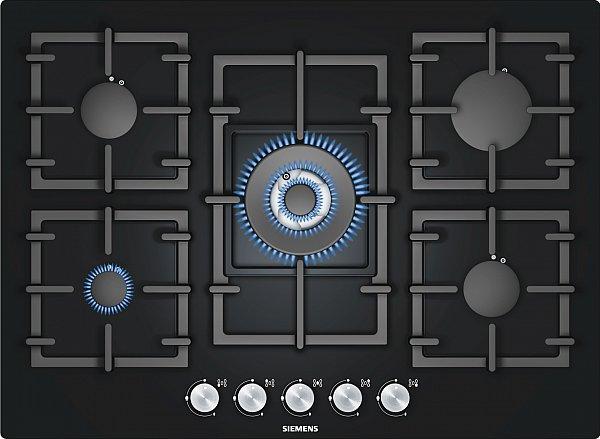 siemens ep716qb91e gas kochfeld 71cm autark gasfeld. Black Bedroom Furniture Sets. Home Design Ideas