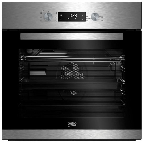 beko einbau backofen autark umluft grill timer 6pr ofen einbaubackofen bim22300. Black Bedroom Furniture Sets. Home Design Ideas