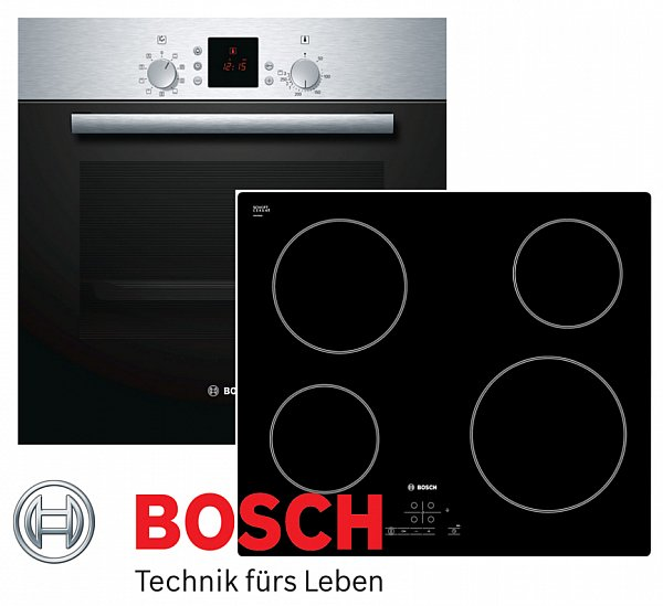 herdset autark einbaubackofen bosch glaskeramik kochfeld 60cm touchcontrol neu ebay. Black Bedroom Furniture Sets. Home Design Ideas
