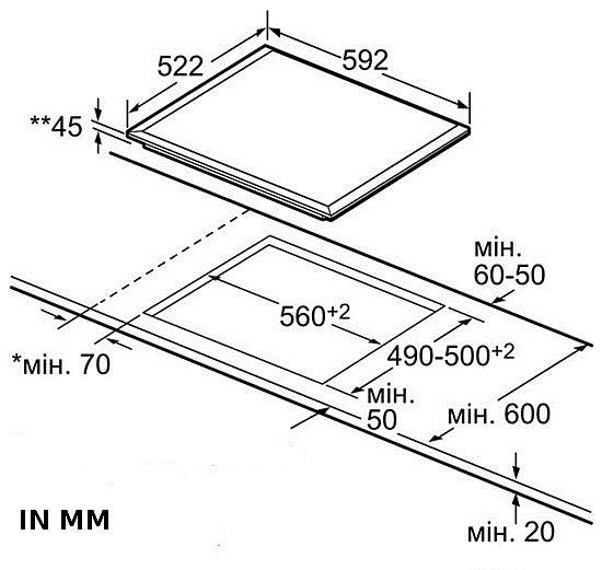 herdset bosch autark einbaubackofen teleskop glaskeramik kochfeld facette ebay. Black Bedroom Furniture Sets. Home Design Ideas
