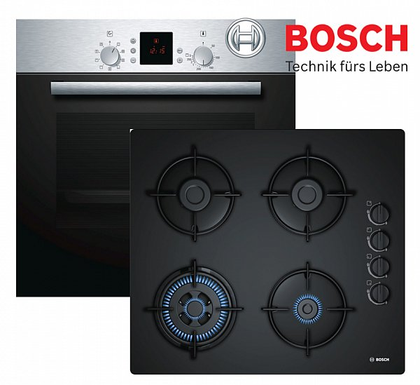 gas herd autark herdset bosch einbau elektro backofen. Black Bedroom Furniture Sets. Home Design Ideas