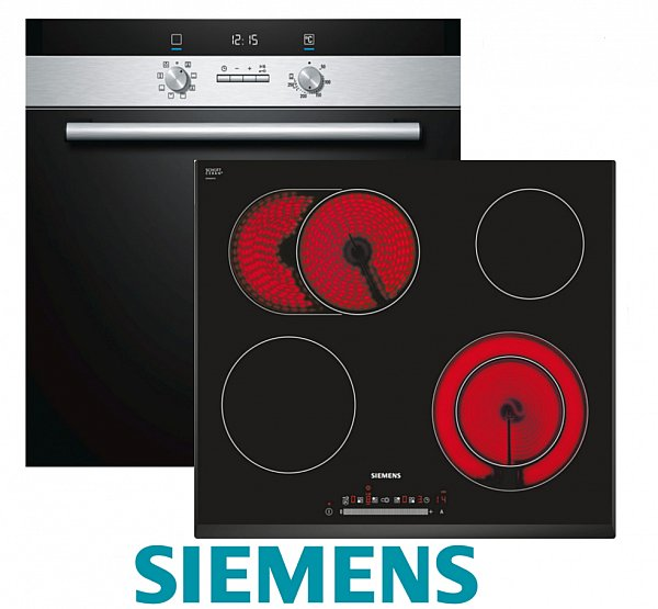 siemens herdset einbau autark backofen umluft. Black Bedroom Furniture Sets. Home Design Ideas