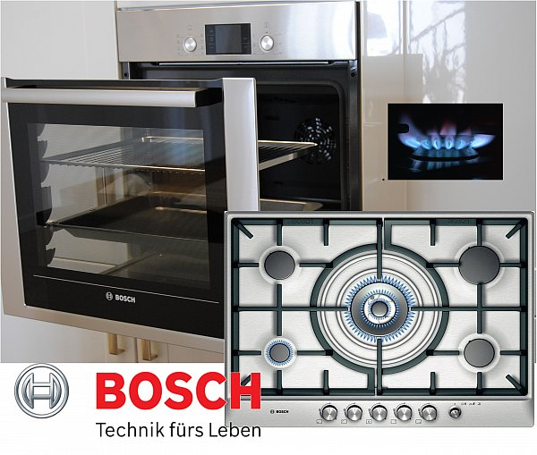 herd bosch gas herdset autark backwagen backofen gas kochfeld edelstahl 70cm ebay. Black Bedroom Furniture Sets. Home Design Ideas