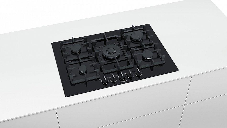 siemens gas kochfeld 75cm autark gasfeld glaskeramik wok. Black Bedroom Furniture Sets. Home Design Ideas