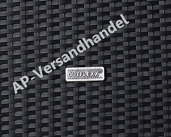 Outdoor Dusche Rattan : Polyrattan mit Teak Boden – schwarz – Outdoor Dusche – Rattan eBay