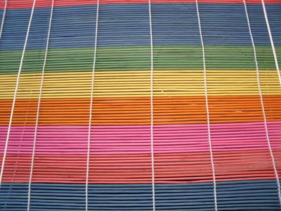 bambusrollo bambus rollo sichtschutz bicolor multicolor jalousie jalousette ebay. Black Bedroom Furniture Sets. Home Design Ideas
