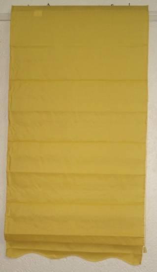 raffrollo seitenzugrollo rollo sichtschutz t rrollo sand gelb faltenrollo ebay. Black Bedroom Furniture Sets. Home Design Ideas