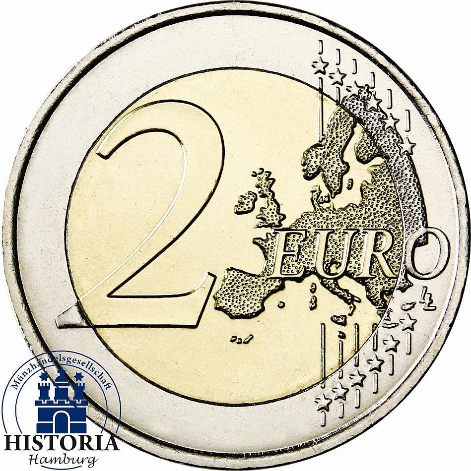 andorra 2 euro m nze 2015 stgl 30 jahre vollj hrigkeit f r