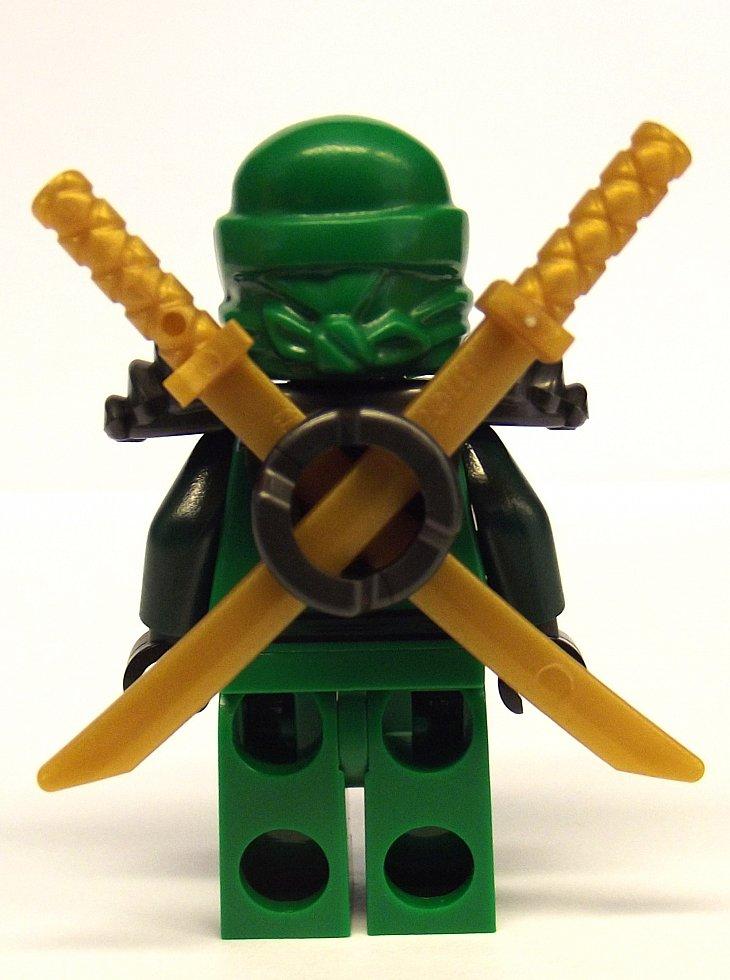 Lego ninjago lloyd zx green ninja with dual gold - Ninjago lloyd ...