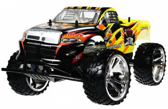 riesen rc monster truck 1 10 gel ndewagen 45cm. Black Bedroom Furniture Sets. Home Design Ideas