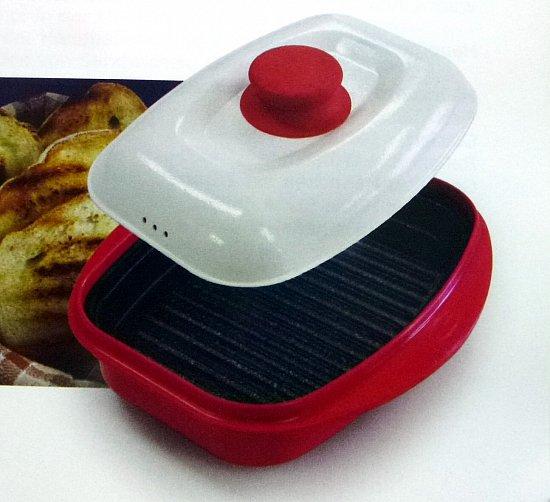 mikrowellen grillpfanne rangemate grill pfanne farbe aubergine. Black Bedroom Furniture Sets. Home Design Ideas