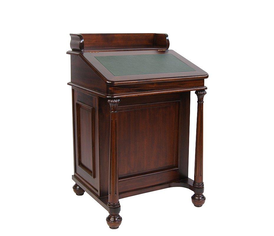 sekret r mahagoni davenport kolonial kolonialm bel englischer stil stilm bel ebay. Black Bedroom Furniture Sets. Home Design Ideas