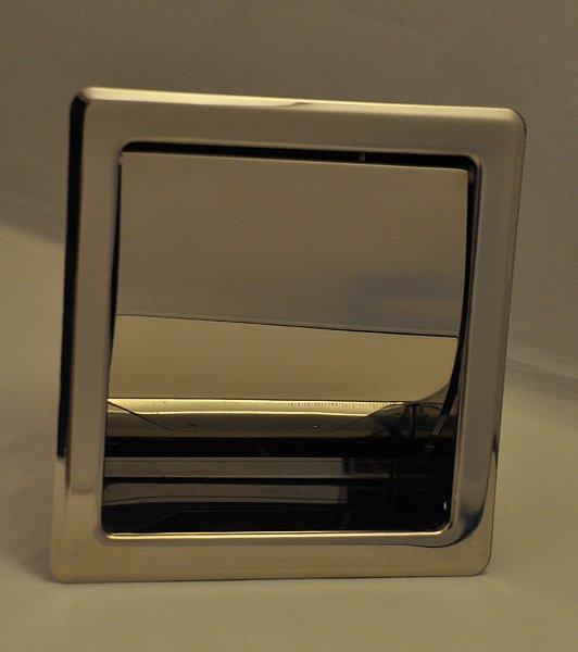 einbau toilettenpapierhalter rollenhalter papierhalter klopapierhalter wand wc ebay. Black Bedroom Furniture Sets. Home Design Ideas