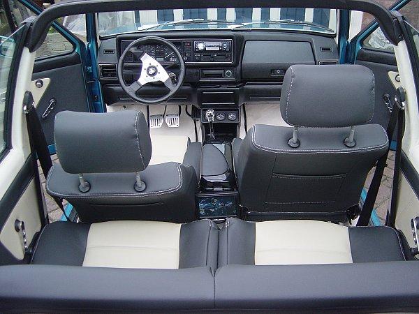golf 1 cabriolet cabrio housses de si ge sur mesure. Black Bedroom Furniture Sets. Home Design Ideas
