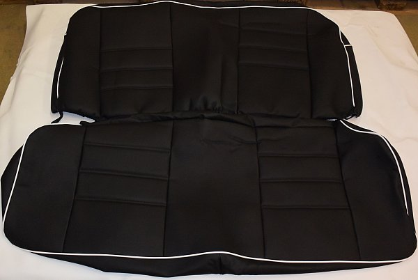vw beetle sedan seat covers 1955 1976 incl rear covers and door panel covers ebay. Black Bedroom Furniture Sets. Home Design Ideas