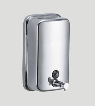 edelstahl seifenspender abschlie bar seife spender bad wc k che sy0201 5. Black Bedroom Furniture Sets. Home Design Ideas