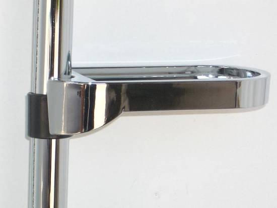 duschstange mit variablem lochabstand brause bad 4162 ebay. Black Bedroom Furniture Sets. Home Design Ideas