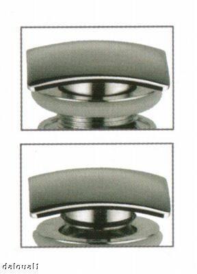 design waschbecken ablauf berlauf klick verschluss quadratisch b08 ebay. Black Bedroom Furniture Sets. Home Design Ideas
