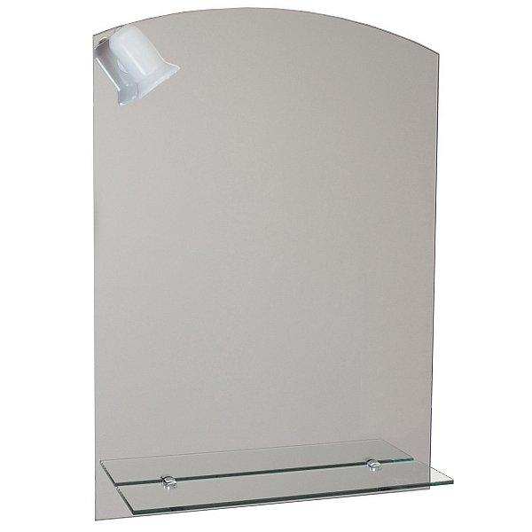 badspiegel mit ablage und beleuchtung spiegel 70cm x. Black Bedroom Furniture Sets. Home Design Ideas