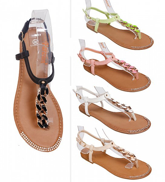 damenschuhe damen sandalen sandaletten zehentrenner. Black Bedroom Furniture Sets. Home Design Ideas
