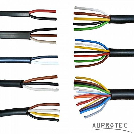 Double Core Cables : Auprotec automotive core electrical auto multicore