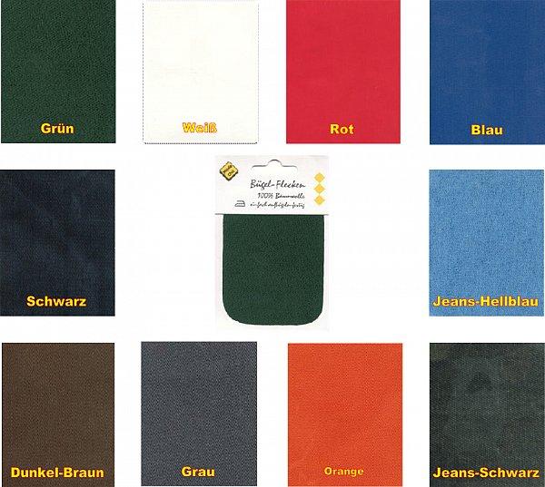 1 2 4 6 flicken repatex aufb geln b gelflicken aufb gler 7 10 cm 10 farben ebay. Black Bedroom Furniture Sets. Home Design Ideas