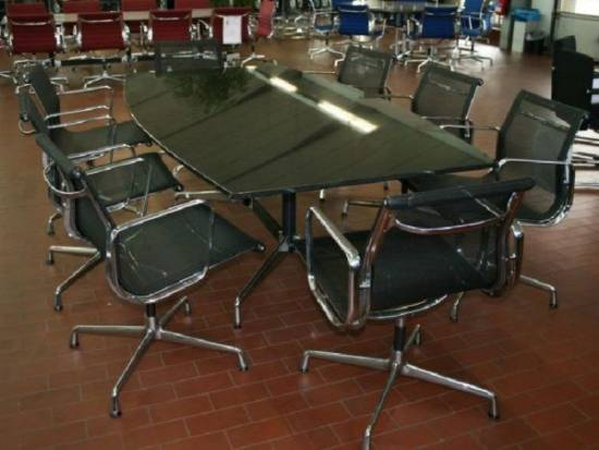 vitra eames aluminium group ea 108 netz 10 x vorhanden ebay. Black Bedroom Furniture Sets. Home Design Ideas