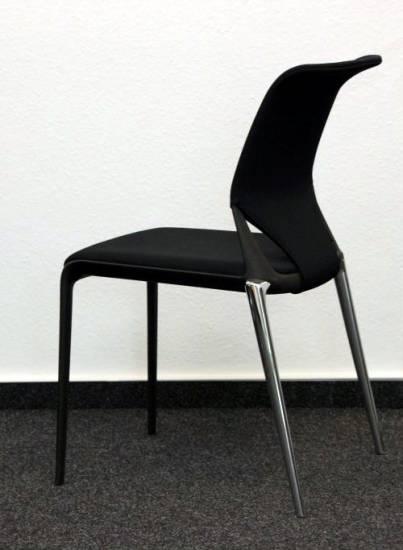 3 x vitra meda slim stapelstuhl besucherstuhl stuhl 30 x vorhanden ebay. Black Bedroom Furniture Sets. Home Design Ideas