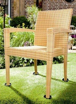 gartenm bel f sse mit steckdorn 4er set gartenstuhl f e. Black Bedroom Furniture Sets. Home Design Ideas