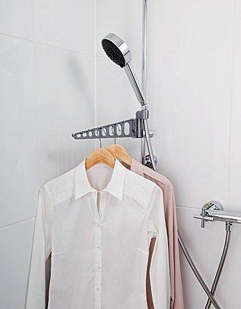 Staffa biancheria duschstange asciugabiancheria balcone - Wasche im schlafzimmer trocknen ...