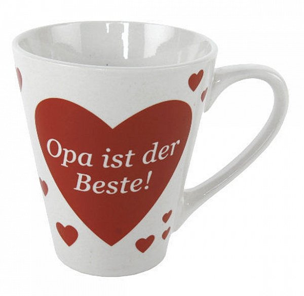 tasse herz mit spruch mama papa oma opa schatz liebe becher pott kaffee tee ebay. Black Bedroom Furniture Sets. Home Design Ideas
